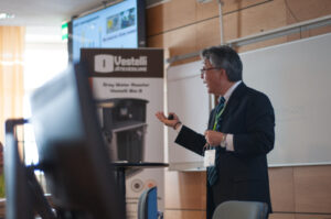Naoyuki Funamizu keynote speech. Photo by Laura Karlin,